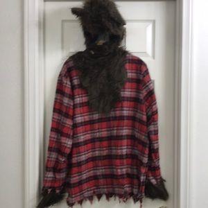 Men's Werewolf Costume